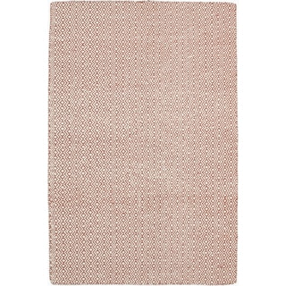 Gabbeh Hand Knotted Area Rug - 4x6 Red