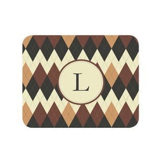 Argyle Personalized Mouse Pad