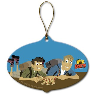 Wild Kratts Lizzard Friend Ornament