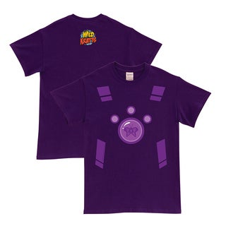 Wild Kratts Creature Power Suit Purple Adult T-Shirt