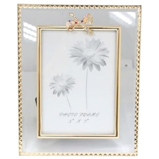 Elegance Glitzy Ribbon Photo Frame (5 x 7)