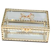 Heim Concept Glitzy Ribbon Jewelry Box