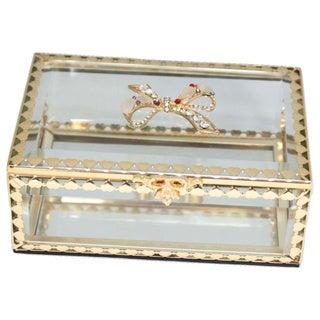 Heim Concept Glitzy Ribbon Jewelry Box