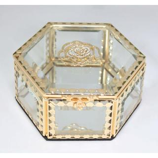 Elegance Glitzy Rose Jewelry Box