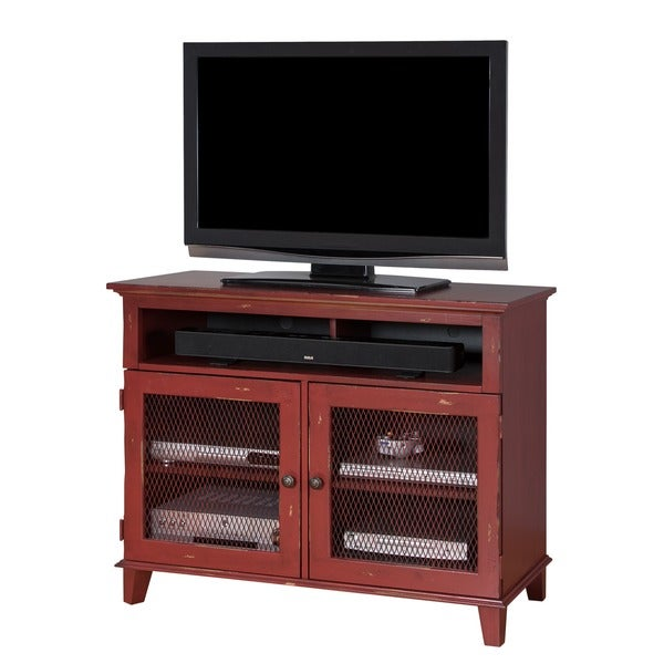 sallis 42 inch tv stand free shipping today 17684999. Black Bedroom Furniture Sets. Home Design Ideas