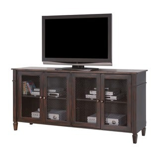 Nelse 72-inch Clove Finish Wooden TV Stand