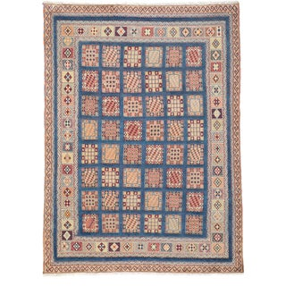 Barjasta Hand Knotted Area Rug - 4x6 Blue