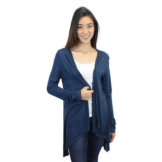 Relished Women's Dreamcatcher Crochet Navy Cardigan