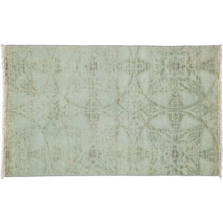 Vibrance Hand Knotted Area Rug - 3x5 Grey