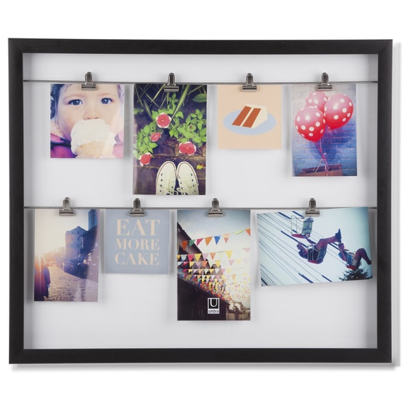 Shop Umbra Clipline Photo Display Picture Frame - Free Shipping On ...