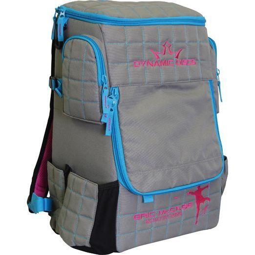 Dynamic Discs Eric McCabe Signature Series Grey/ Electronic Ranger Backpack Disc Golf Bag