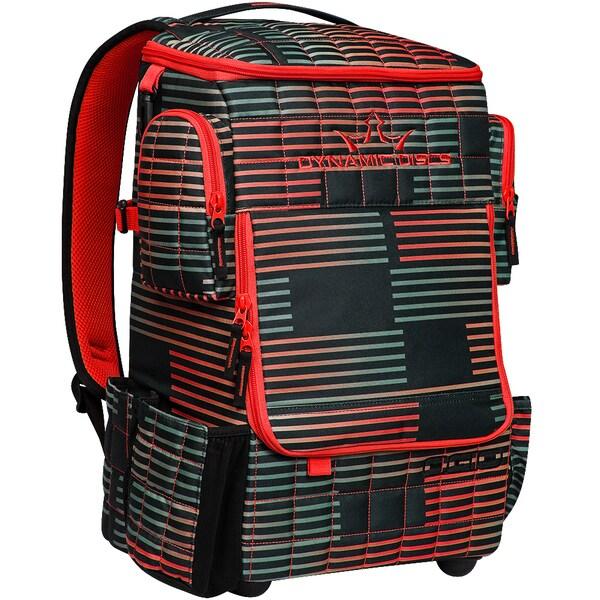Dynamic Discs Ranger Backpack Stoke Red Disc Golf Bag