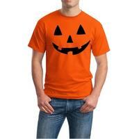 Men's Cotton Jack O Lantern Halloween Costume T Shirt