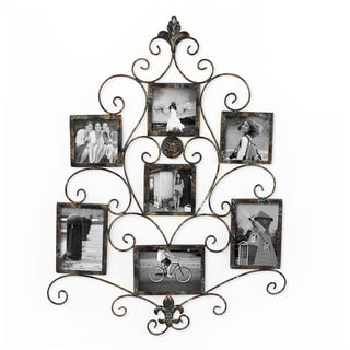 Link to Adeco 7-opening Metal Photo Picture Collage Frame Similar Items in Decorative Accessories