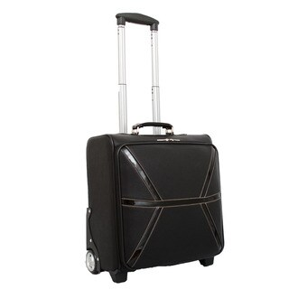 Mellow World Daffodil 17-inch Carry-on Upright Laptop Suitcase