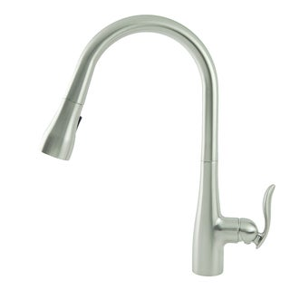 Fontaine Majeste Brushed Nickel Single Handle Pull Down Faucet
