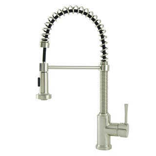 S-Series Residential Brushed Nickel Spring Coil Kitchen Faucet|https://ak1.ostkcdn.com/images/products/10614286/P17685271.jpg?impolicy=medium