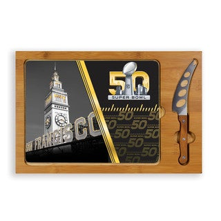 Picnic Time NFL Super Bowl 50 Legacy Icon Cutting Board