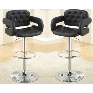 Harrison Leather Barstools (Set of 2)