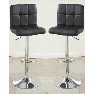 Milo Leather Barstools (Set of 2)