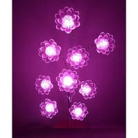 LED Light Lotus Flower Bonsai Tree