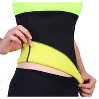 Women's Black Neoprene Slimming Waist Shaper