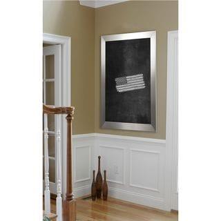 American Made Rayne Silver Wide Blackboard/Chalkboard