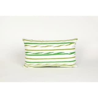 "Liora Manne Swirl Stripe Throw Pillow (12"" x 20"")"