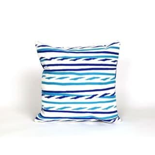 Swirl Stripe 20-inch Throw Pillow