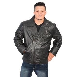 Men's Jumble Jacket with Antique Silver Zipper