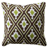 Harp & Finial Alice Down and Feather Filled 20-inch Throw Pillow