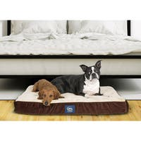 Serta Orthopedic Quilted Pillowtop Pet Bed