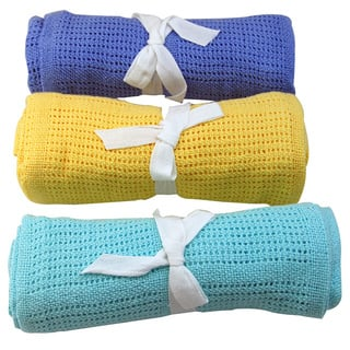 Snuggle Cellular Cotton Baby Blanket|https://ak1.ostkcdn.com/images/products/10616427/P17687113.jpg?impolicy=medium