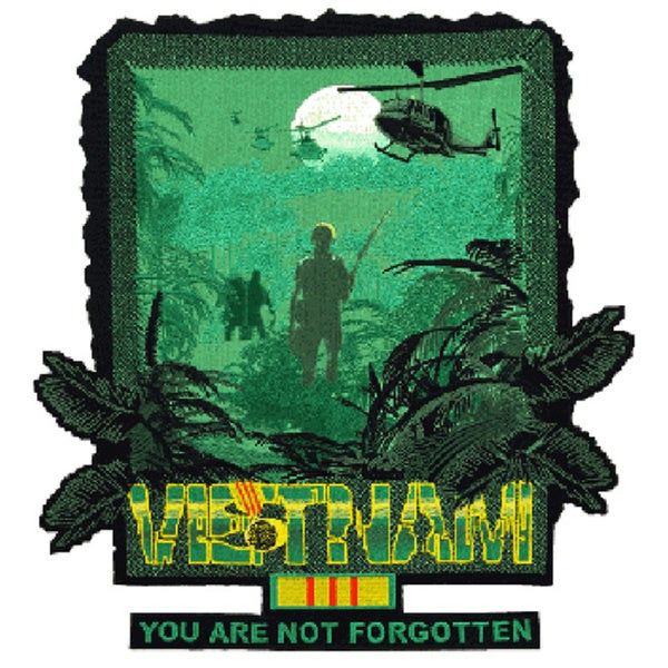 "Vietnam ""You Are Not Forgotten"" Large Patch"