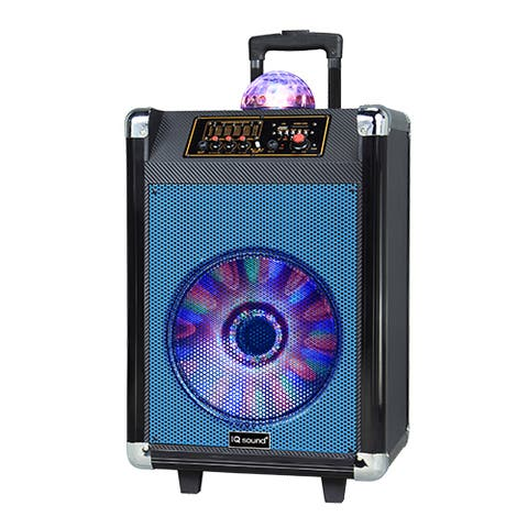 Supersonic Portable Bluetooth Speaker System - 30 W RMS - Blue