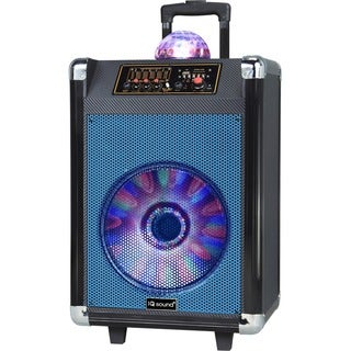 Supersonic Speaker System - 30 W RMS - Portable - Battery Rechargeabl