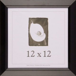 Black Narrow Picture Frame 12.x12