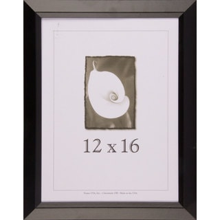 Black Narrow Picture Frame 12x16