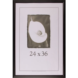 Black Narrow Picture Frame 24x36