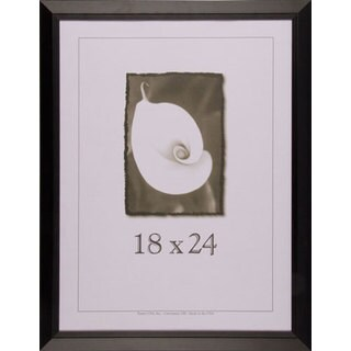 Black Wide Picture Frame 18x24