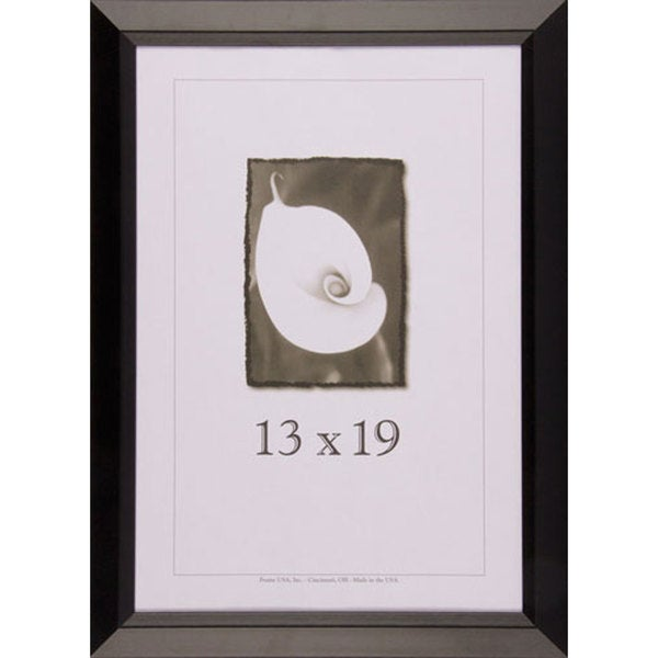 Shop Black Wide Picture Frame 13x19 - Free Shipping Today ...