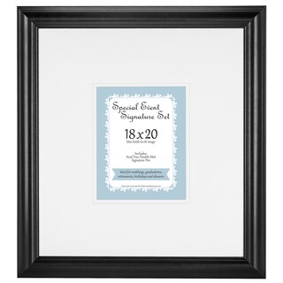 Special Occasion Signature Mat and Pen set for 8x10 photo frame