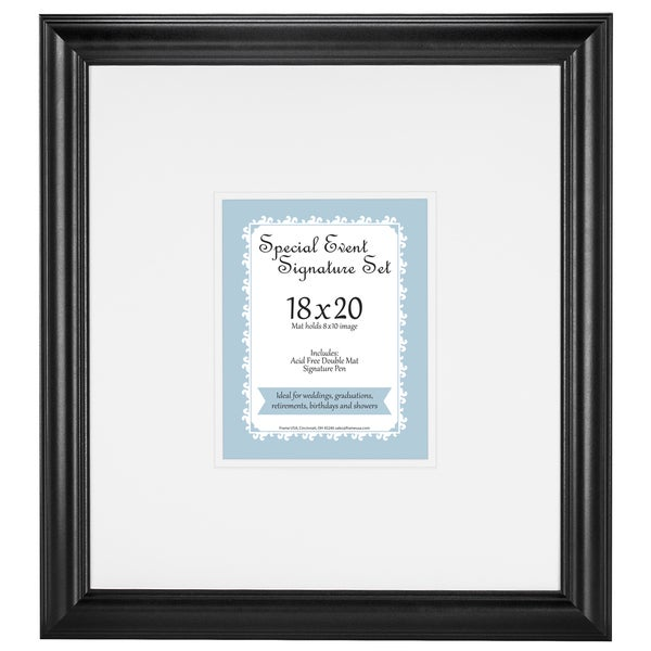 Special Occassion Signature Mat and Pen set for 8x10 photo frame