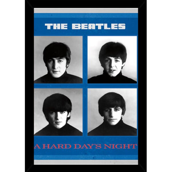 Shop The Beatles - A Hard Days Night Print (22-inch x 34-inch) with ...