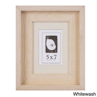 Appalachian Barnwood Picture Frame 5x7 (Option: Off-White)