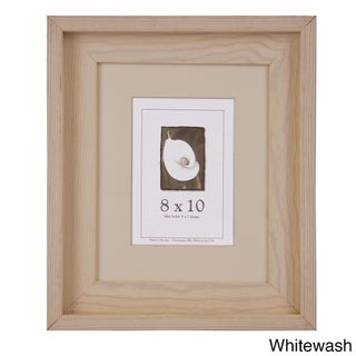 Appalachian Barnwood Picture Frame 8x10 (Option: Off-White)