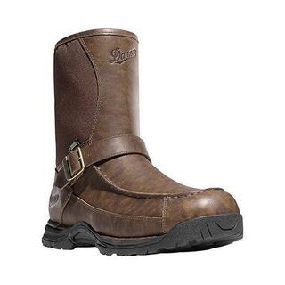 Danner Men's Boots Sharptail Rear-Zip GORE-TEX Brown Full Grain Leather