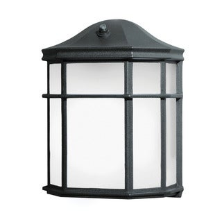 Kichler Lighting 1-light Black Outdoor Wall Lantern