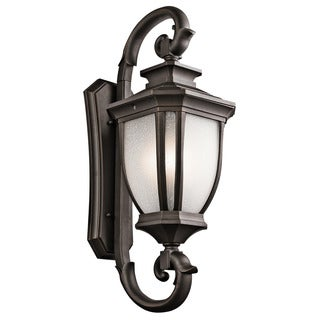 Kichler Lighting Salisbury Collection 4-light Rubbed Bronze Outdoor Wall Lantern