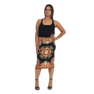 Ella Samani Women's China Printed Skirt